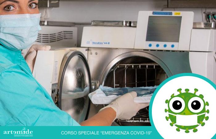 protocolli di sterilizzazione - aggiornamento ASO - consorzio artemide
